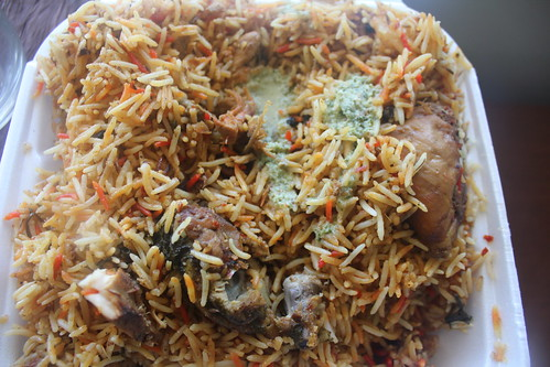 Chicken Biryani from Zam Zam
