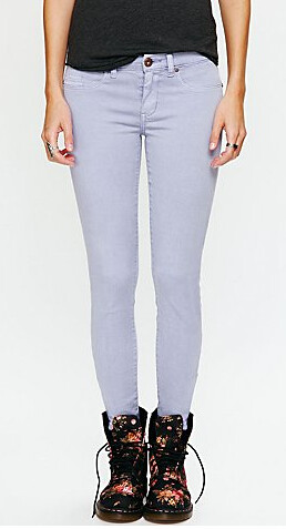 Free People Lavender Jeans