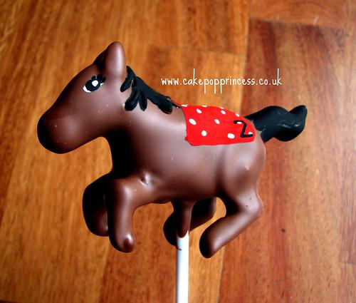 Horse Cake Pop #2