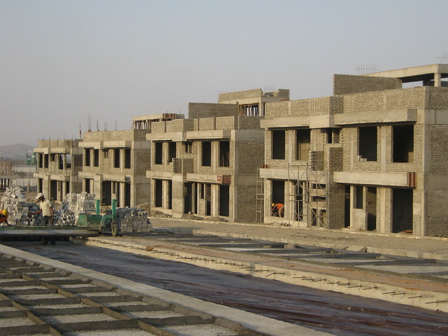 Construction of Central Boulevard & Villas Life Republic - Hinjewadi Marunji - on 22nd February 2012 - World Thinking Day