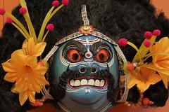 Mahishasur mask from West Bengal, India