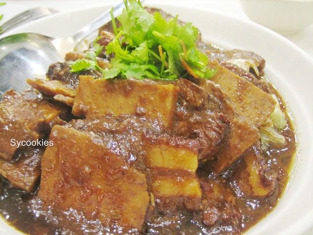7.braised pork with yam @ bei zhan restaurant (melaka)