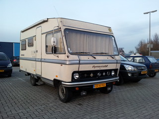 1979 Hymermobil 521 BS Camper (on Bedford chassis)