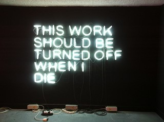Stefan Brüggemann > This Work Should Be Turned Off When I Die (2010)