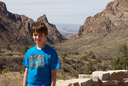 JD Boy (age 9) in Big Bend