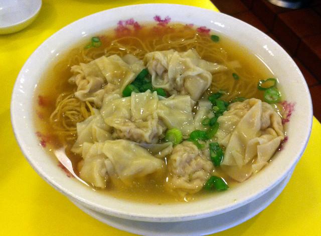 Wonton noodle soup | Flickr - Photo Sharing!