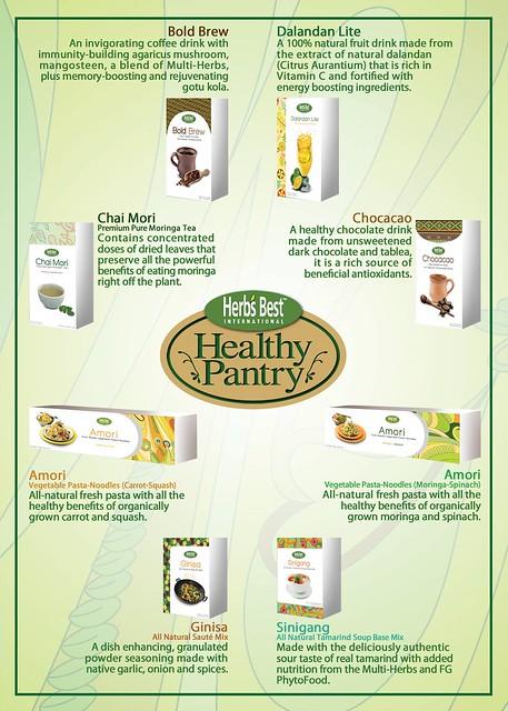 Herb's Best Healthy Pantry