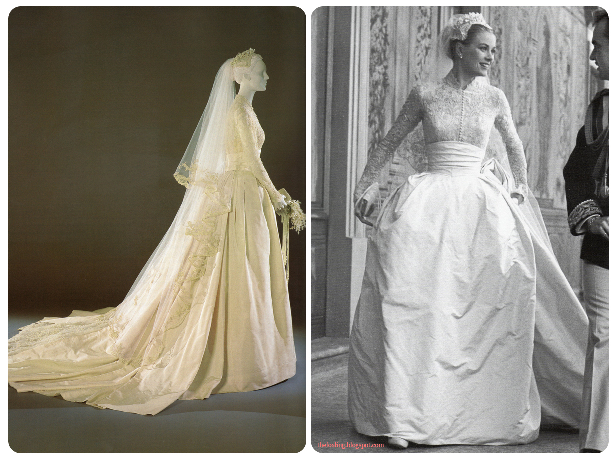 The foxling grace kelly 39 s wedding Grace kelly wedding dress design