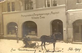 """Zur Erinnerung an """"Almansor"""" (February 1909)"""