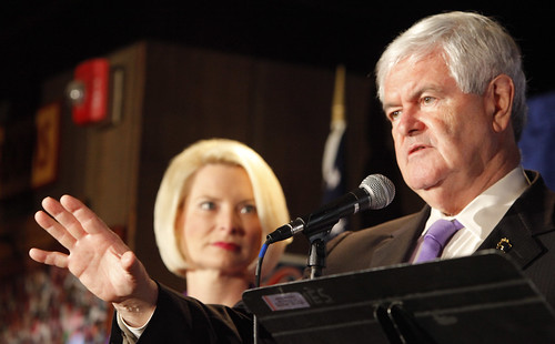 Newt Gingrich in West Chester