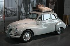 bmw 501(0.0), morris minor(0.0), automobile(1.0), vehicle(1.0), mid-size car(1.0), dkw 3=6(1.0), compact car(1.0), antique car(1.0), sedan(1.0), classic car(1.0), vintage car(1.0), land vehicle(1.0),
