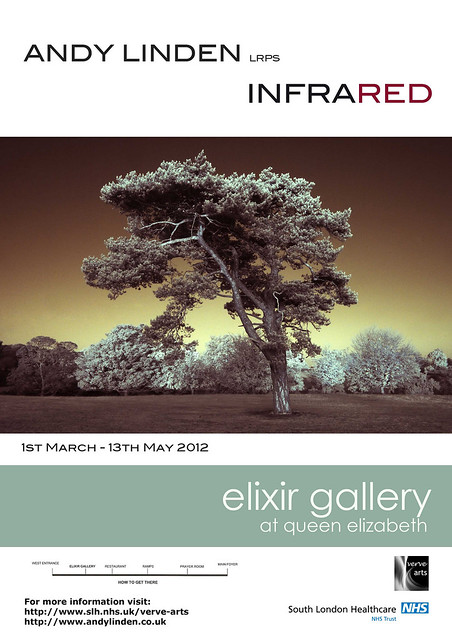 My first solo exhibition