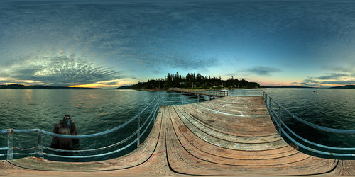 sunset panorama landscape washington dusk sunsetglow wa pugetsound bainbridgeisland washingtonstate stitched 360x180 ptgui equirectangular photomatix tonemapped canon15mm nodalninja3 canon5dmk2 garretveley promotecontrol