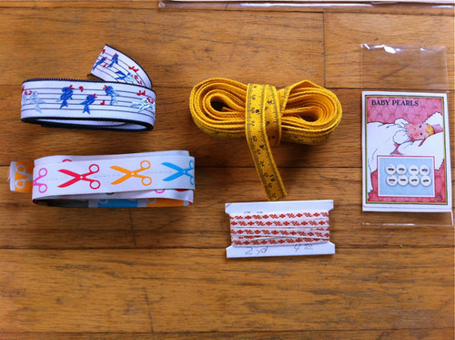 Ribbons and twill tape