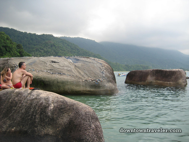 Paraty Brazil Beach Rocks