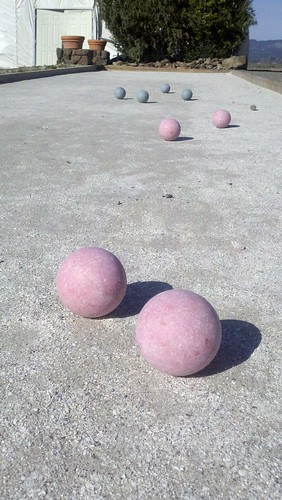 Bocce Ball in Sonoma