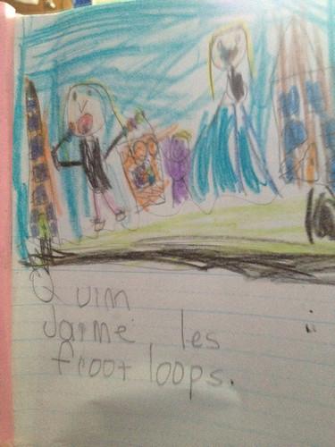 Quinn j'aime les froot loops by hopeandmegan
