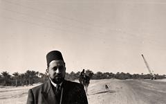 في الطريق الى راس تنورة - 2 شباط 1954