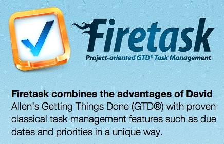 Firetask — Project-oriented GTD® Task Management for Mac, iPhone and iPad