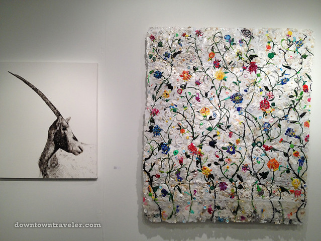 Volta NY Art Show_Sheila Gallagher plastic paintings