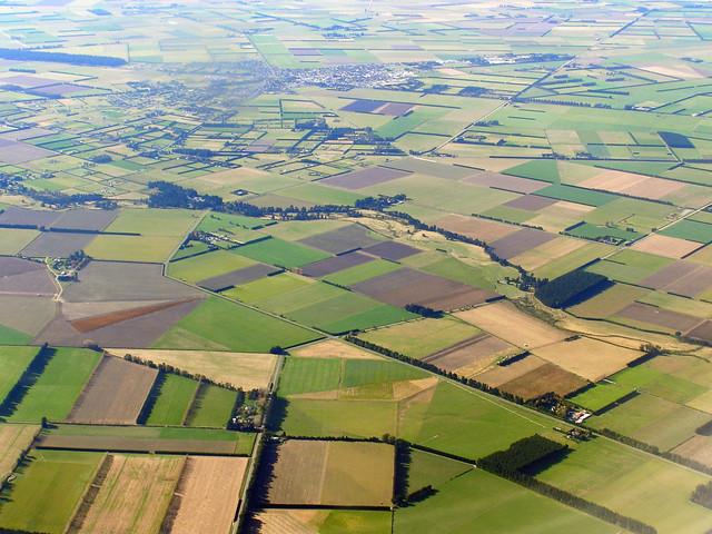 基督城的农地