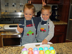 Alex and Zach: These eggs are Easter Bunny approved!
