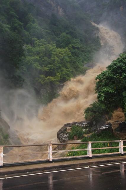 2011-0731 Sri Lanka (UP) Ella - Rawana Waterfall during Tropical Cyclone 05B