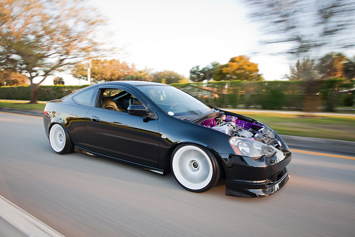 Stanced Acura RSX No Hood In The Hood Transportation In - Acura rsx hood