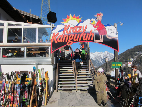 Crazy Kanguruh in St Anton