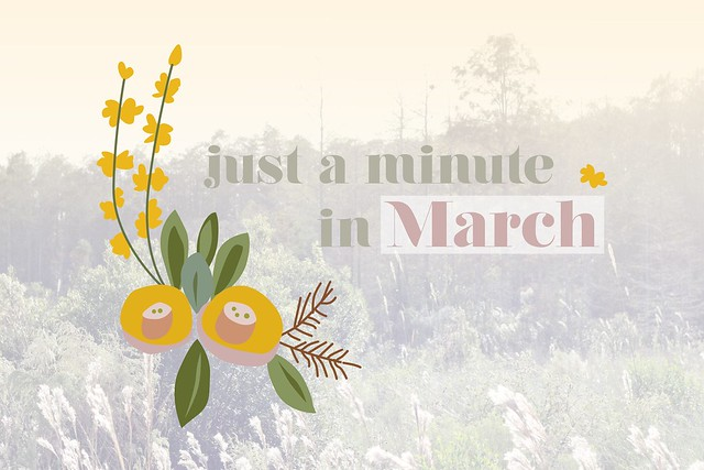Just a minute in march