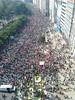 Manifestación contra a reforma laboral na Coruña