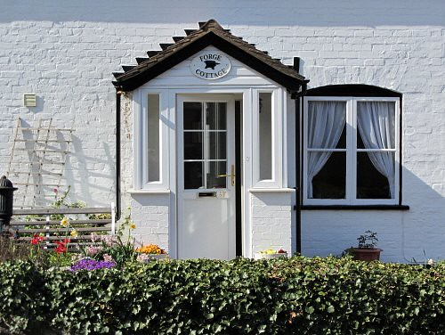 White cottage - windows and doors | Flickr - Photo Sharing!