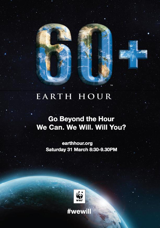 What are you willing to do to save the planet? Support Earth Hour 2012!