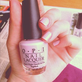 #opi #nails #nailpolish #pastel