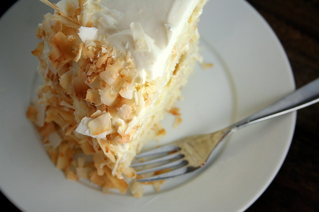 Coconut southern comfort layer cake | Flickr - Photo Sharing!