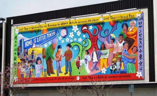 mural in Little Tokyo (c2012 FK Benfield)