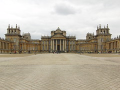 Blenheim Palace in Oxfordshire, at Easter Time.