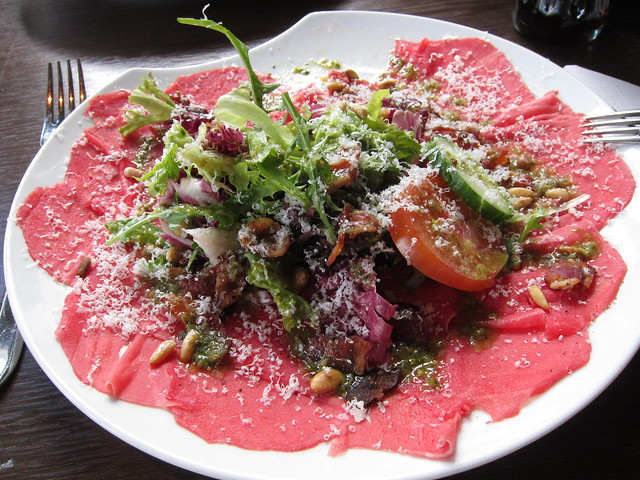 Carpaccio salad
