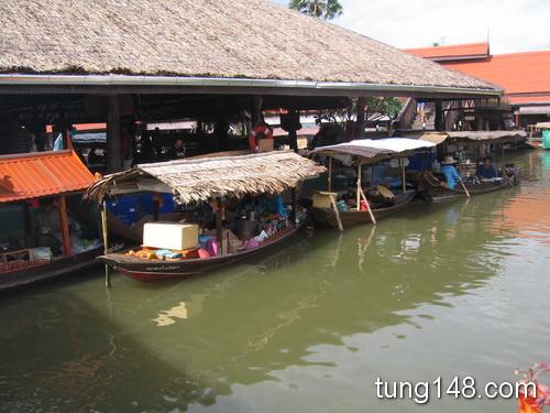 ตลาดน้ำอโยธยา Ayothaya Floating Market