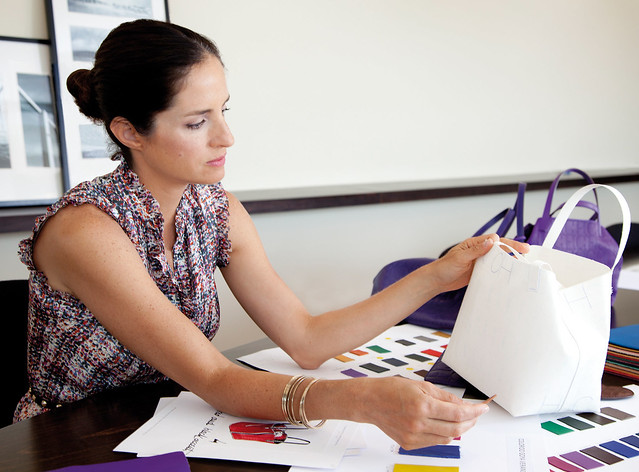 Carolina Herrera De Baez at work