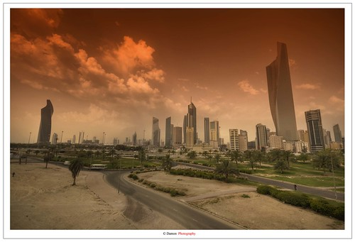 Kuwait City Before Storm