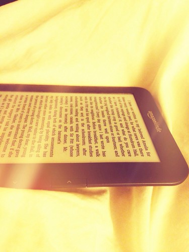 Reading in bed, every night