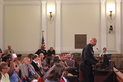 The City Council calls the Denver Police Chief to the podium - Urban Camping Ban Public Hearing - 4/30/2012
