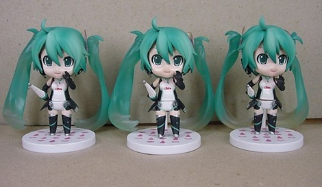 Bootleg Nendoroid Racing Miku: 2011 version