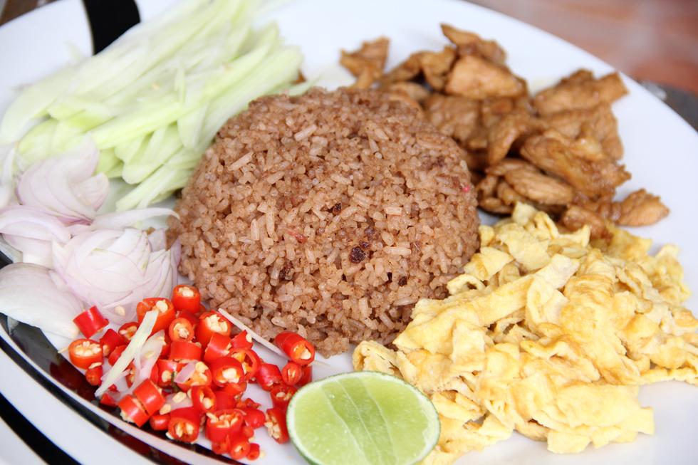 Thai mixed rice