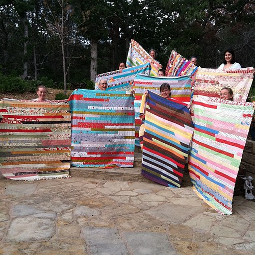126:365 Jelly Roll Race quilts.