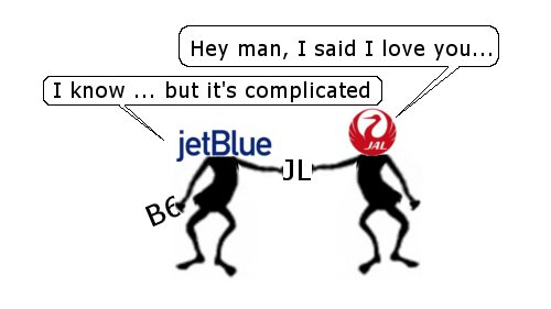 JetBlue and the One Way Codeshare