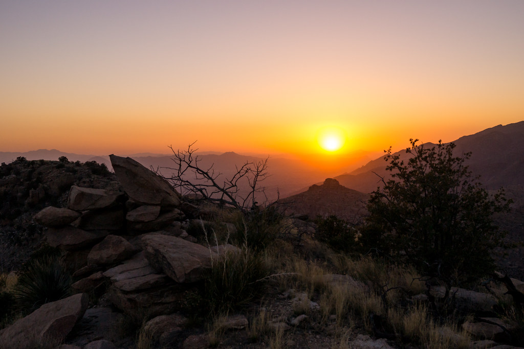 1403 Sunset from Gibbon Mountain