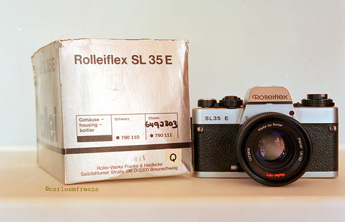 Rolleiflex SL35 E with original box