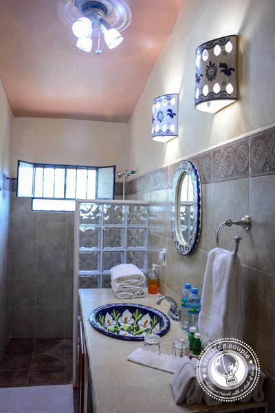 Stunning Bathroom at Casa Hamaca Guesthouse